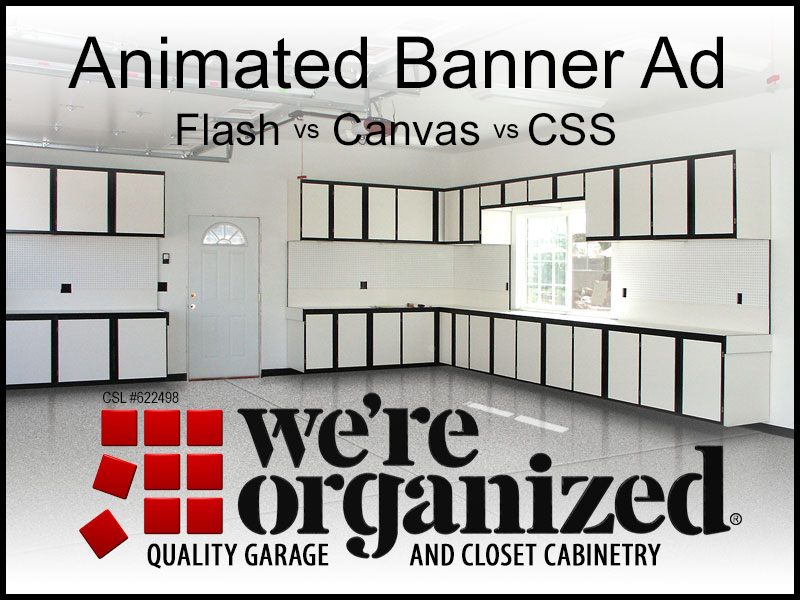 Animated Ad Flash vs Canvas vs CSS