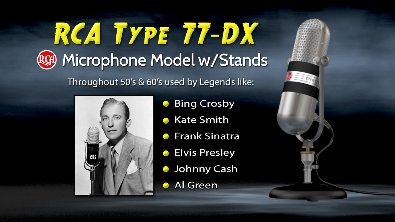 RCA Type 77DX Microphone